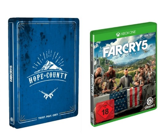 Far Cry 5 Standard Edition Steelbook Edition